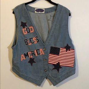 Vintage America vest size L